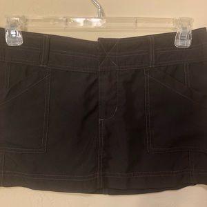 Roxy Swim - Roxy Velcro Pocketed Black Swim Skirt